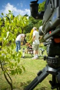 Filming Dr David Lewis's DVD programme